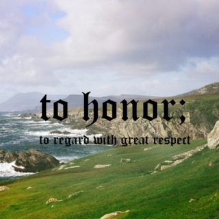 to honor