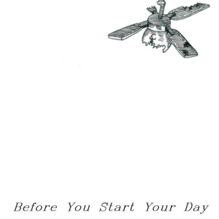 Before You Start Your Day
