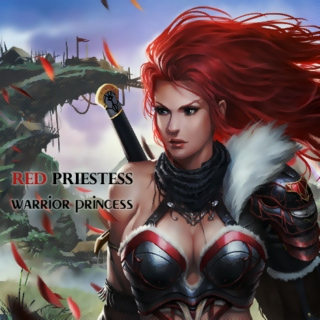 [red priestess] warrior princess ♛