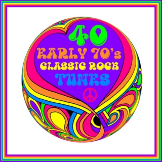 40 EARLY 70'S CLASSIC ROCK TUNES
