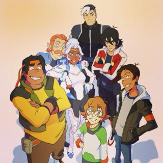 Voltron The Legendary Defender Mix