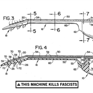 This machine kills fascists.