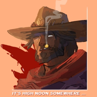 It's HIGH NOON Somewhere ...