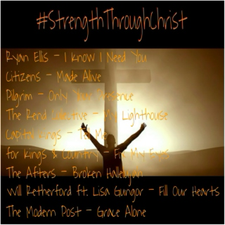 #StrengthThroughChrist