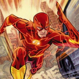 My name is Barry Allen and I am the fastest man alive