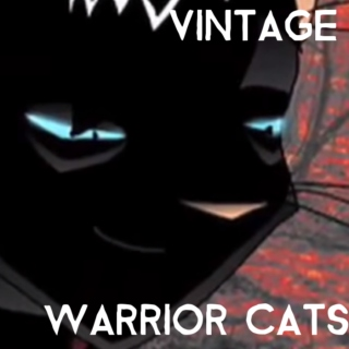 vintage warrior cats