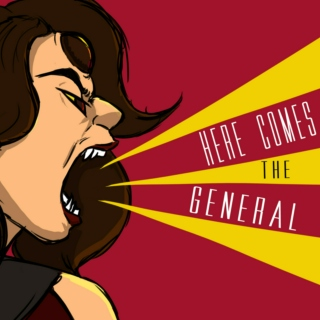 Here Comes the General!