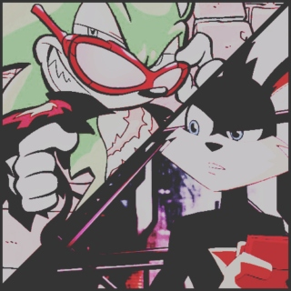 When im messed up thats the real me. ace&scourge
