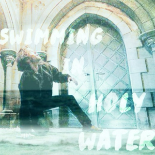 swimming in holy water