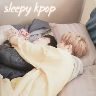 sleepy kpop