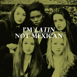 I'm Latin, Not Mexican.