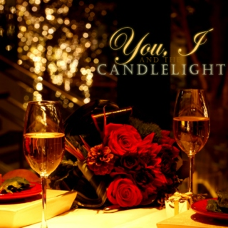 you, I & the candlelight