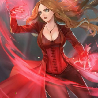 Wanda Maximoff aka the Scarlet Witch master mix (pt.2)