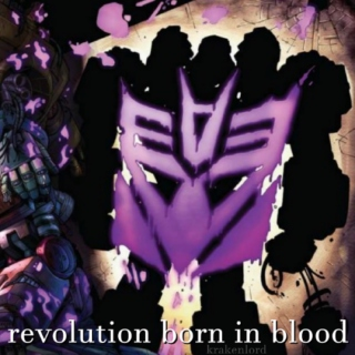 revolution born in blood