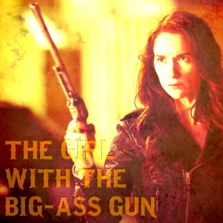 The Girl With the Big-Ass Gun