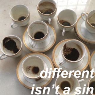 different isn't a sin