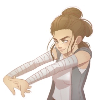 The Force Awakens -Side Rey-