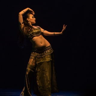 Drop everything and bellydance