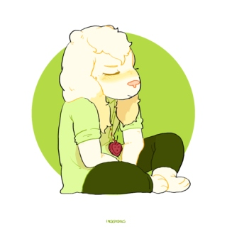 i'll get over it (a prettyboy!asriel mix)