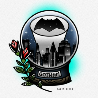 Here's to Gotham turned upside down