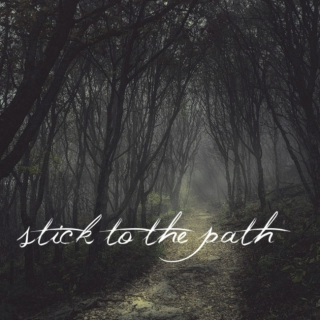 stick to the path