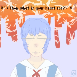 * ̀ •゚Then what is your heart for?゚•́ *