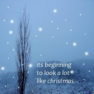 its beginning to look a lot like christmas