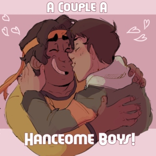 a couple a hanceome boys
