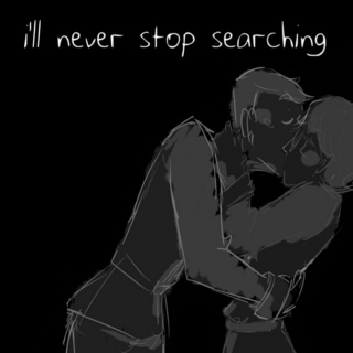 i'll never stop searching