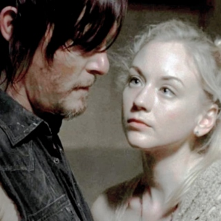 the pieces in my life go away with you. | daryl & beth.