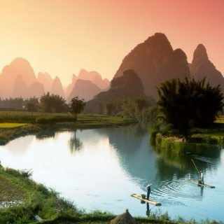 Along the Li River