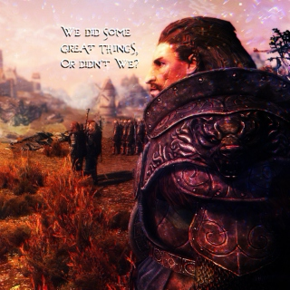 We Did Some Great Things, Or Didn't We?: An Ulfric Stormcloak Fanmix