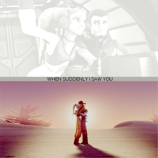 when suddenly i saw you