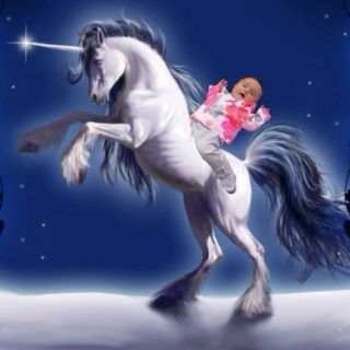When Babies Ride Unicorns into Rainbows It Sounds Like This...