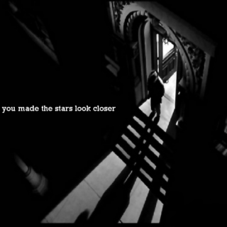 you made the stars look closer
