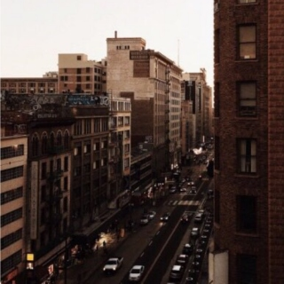 above gray streets