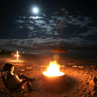 #Beach Blanket Bonfire
