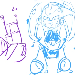 who let blurr have the aux cord