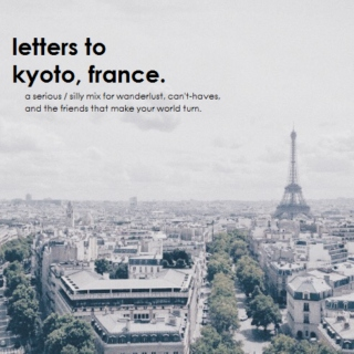 letters to kyoto, france