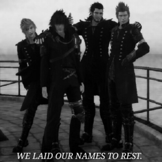 we laid our names to rest.
