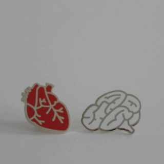 the brain and the heart