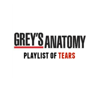 grey's anatomy playlist of tears