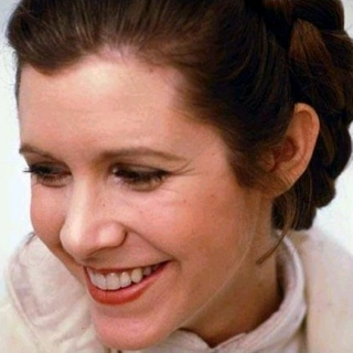 So Long, Carrie Fisher. The Heavens Have a New Cool Chick...