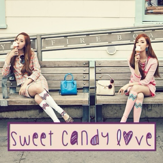 Sweet candy love