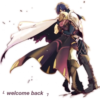 └  welcome back  ┐
