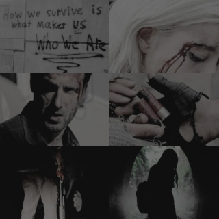 RIGHT WHERE WE ARE; rick x daenerys.