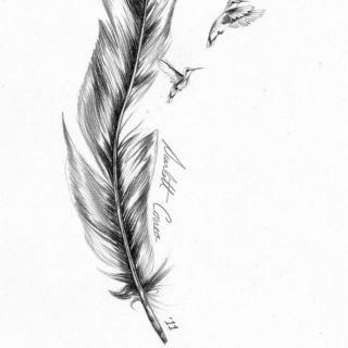 Like a feather in the wind