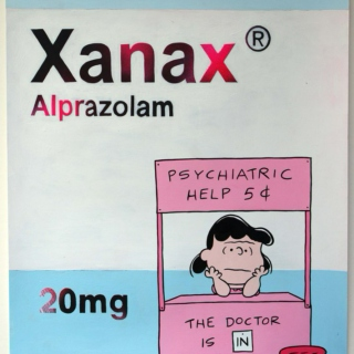 Alprazolam, 20/0.5mg (Rx Only.)