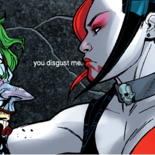 you disgust me;