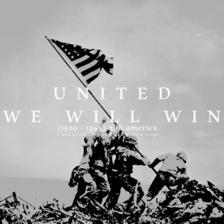UNITED WE WILL WIN.